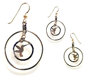 Double Hoop Hummer earrings