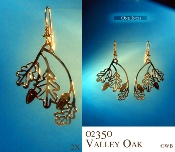Valley Oak Leaves Earrings