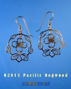 Wild Bryde Pacific Dogwood Earrings