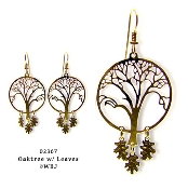 Wild Bryde Oak Tree Earrings