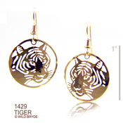 Year of the Tiger Earrings