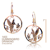 Hummingbird Nectar Earrings