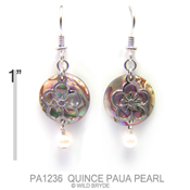 Quince Paua with Pearl