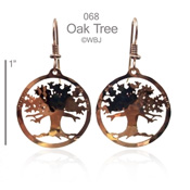 Oak Tree Earrings