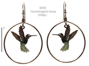 Hummer Hoop earrings