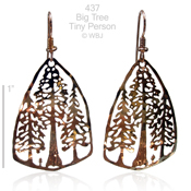Wild Bryde Big Trees Earrings