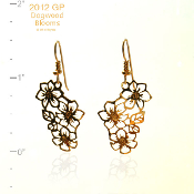 Dogwood Flowers Earrings
