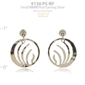 NAMI Logo Earrings - Post