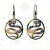 Year of the Snake Earrings