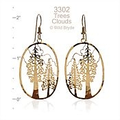 Wild Bryde Giant Sequoia Earrings