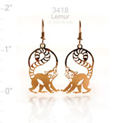 Lemur Earrings