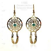 Dreamcatcher with Turquoise Earrings