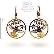 Visiting Hummingbird Earrings