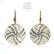 Wild Bryde Jewelry Basket Weave Earrings