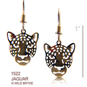 Jaguar Portrait Earrings