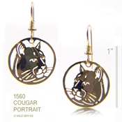 Mountian Lion Earrings