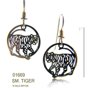 Little Tiger Earrings