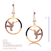 Hummer in Circle Earrings