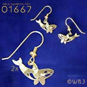 Orca Earrings