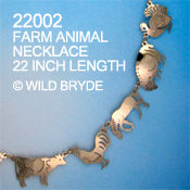 Farm Animals Necklace
