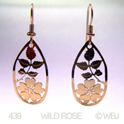 Wild Bryde Wild Rose Earrings