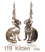 Littly Kitty Earrings