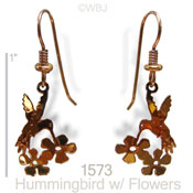 Hummer Drinking Earrings