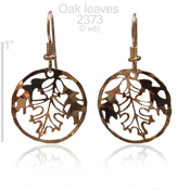 Falling Leaves Earring