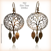 Winter Elm Earrings