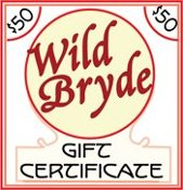 Wild Bryde Jewelry $50 Gift Certificate