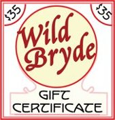 Wild Bryde Jewelry $35 Gift Certificate