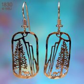 Yosemite El Capitan Earrings
