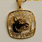 10827 PE Half Moon Bay HS Jewelry Pendant w/o chain