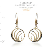 NAMI Logo Earrings - Small