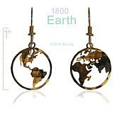 Small Earth Earrings