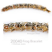 Rainforest Frogs Bracelet