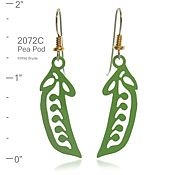Wild Bryde Pea Pod Earrings