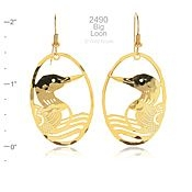 Big Loon Earrings