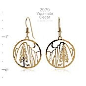 Yosemite Cedar Earrings