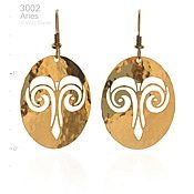 Aries Ram Earrings