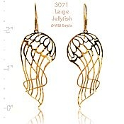 Large Jellyfish Earrings