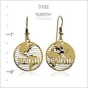 Earth Day Earrings