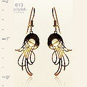 Wild Bryde Jewelry Jellyfish Earrings