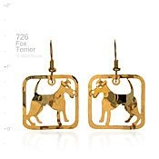 Fox Terrier Earrings